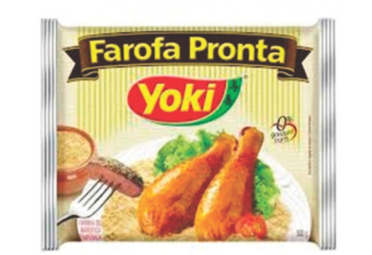 FAROFA PRONTA TRADICIONAL YOKI 250GR