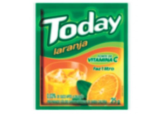 REFRESCO TODAY LARANJA PARATI 25GR