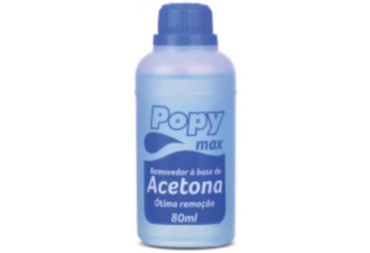 ACETONA REMOVEDOR POPY 12X80ML FARMAX