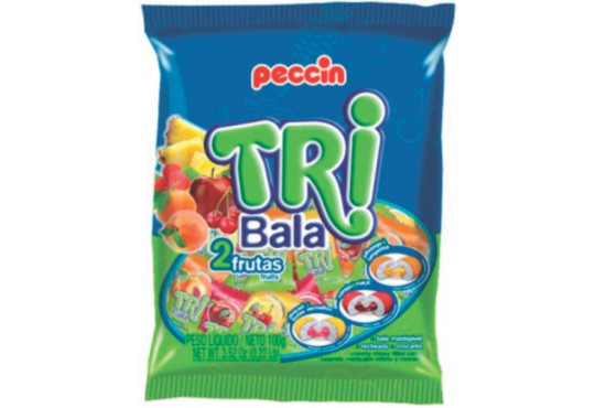 BALA PECCIN TRIBALA SORTIDA 600GR