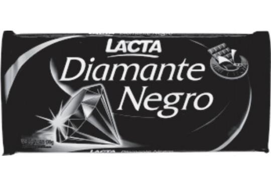 CHOC. BARRA LACTA DIAMANTE NEGRO 150GR