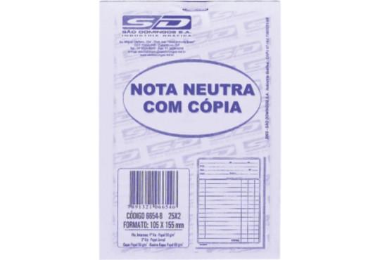 BLOCO PEDIDO NEUTRA 40FLH 2 VIAS TILIBRA