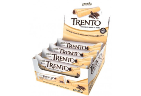 CHOC. PECCIN TRENTO C/ RECH BRANCO 32GR