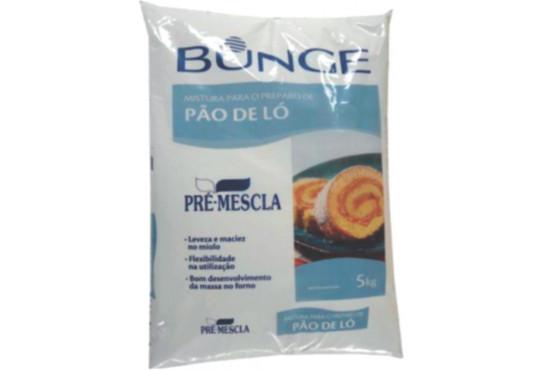 BUNGE PRÉ-MESCLA PÃO DE LÓ 5KG