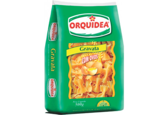 MASSA ORQUÍDEA COM OVOS GRAVATINHA 500GR