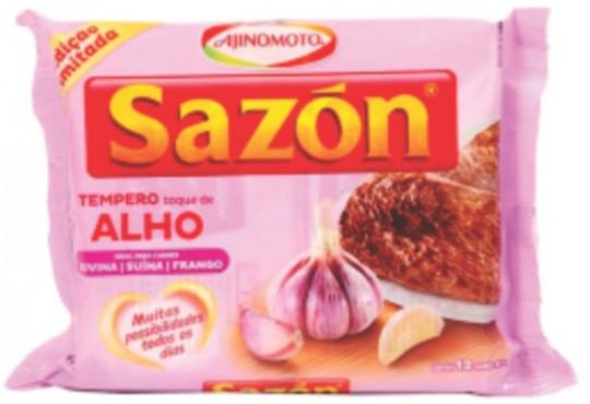 TEMPERO SAZON ALHO/ROXO CLARO 60GR