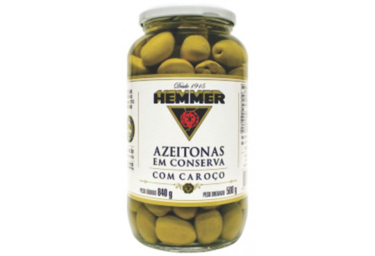 AZEITONA HEMMER VIDRO 500GR