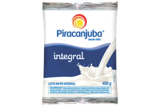 LEITE PÓ PIRACANJUBA INTEGRAL 400GR
