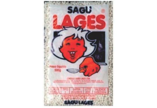 SAGU LAJES 500GR