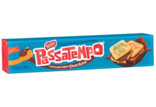 BISCOITO NESTLÉ PASSATEMPO RECH CHOC 300GR