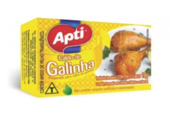 CALDO PÓ APTI GALINHA 19GR