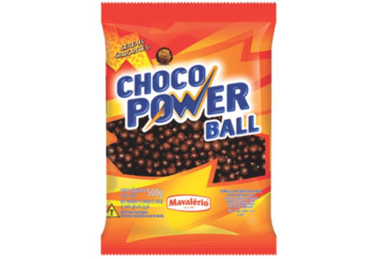 CHOC. POWER BALL MAVALERIO PEQ. 500GR