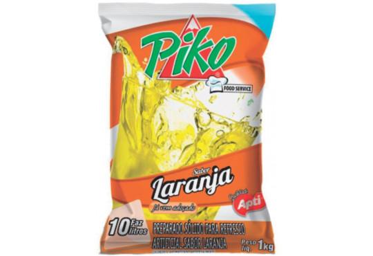 REFRESCO PIKO PACOTÃO LARANJA 1KG