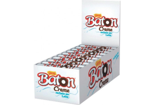 CHOC. BATON GAROTO RECHEADO 16GR