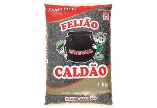 FEIJÃO PRETO CALDÃO TIPO 1 1KG