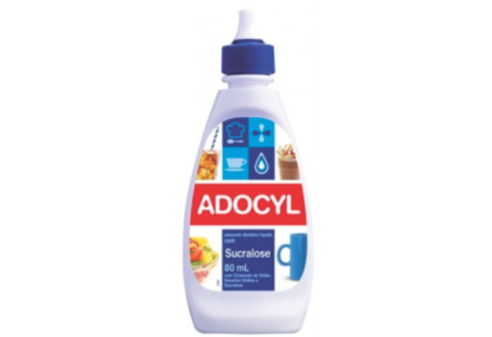 ADOÇANTE ADOCYL SUCRALOSE AZUL 80ML