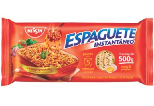 MASSA NISSIN ESPAGUETE INST 500GR
