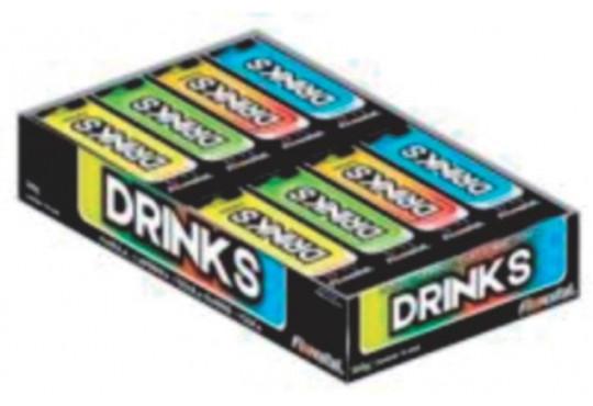 DROPS FLORESTAL DRINKS SORTIDOS C/ 16