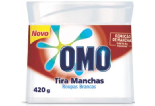 LIMPADOR TIRA MANCHAS OMO ROUPA BRANCA 420GR POTE