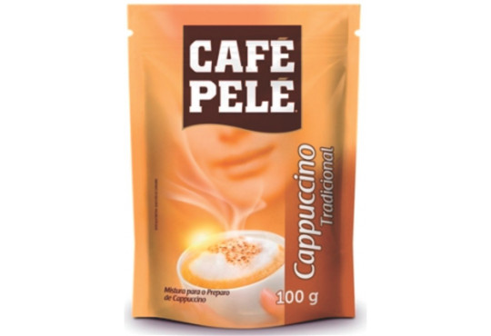 CAFÉ PELÉ CAPPUCCINO 100GR