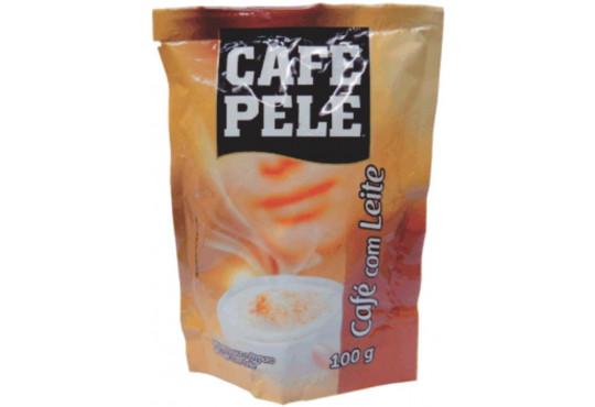 CAFÉ PELÉ C/ LEITE 100GR