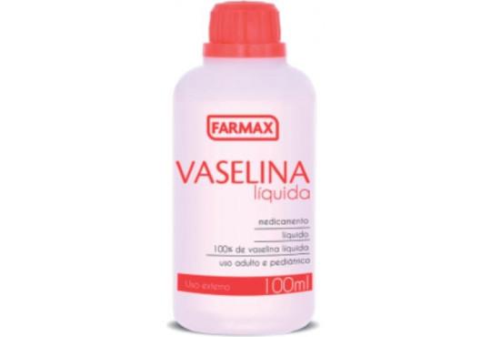 ÓLEO VASELINA FARMAX 100ML
