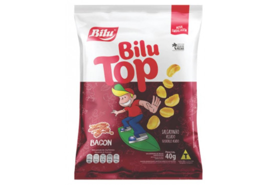 BILU MET TOP BACON 40GR