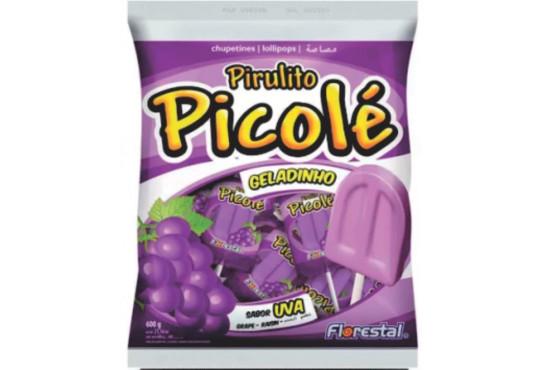 PIRULITO FLORESTAL PICOLÉ UVA C/ 50