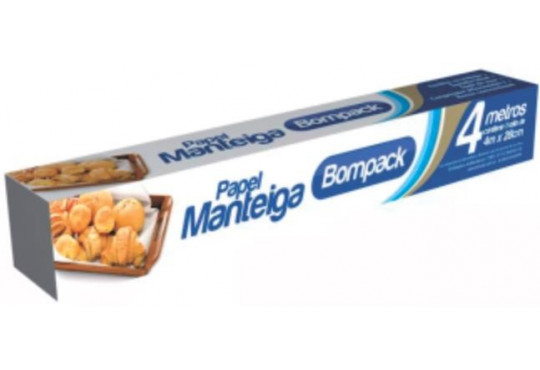 PAPEL MANTEIGABOMPACK 4MT