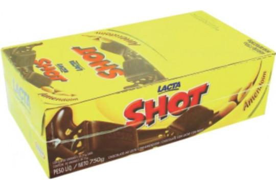 CHOC. LACTA SHOT LEITE 20GR