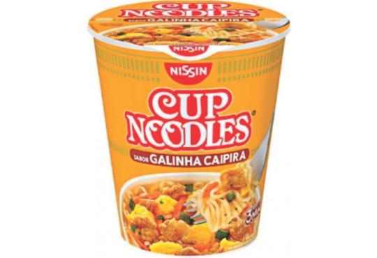 MASSA NISSIN CUP NOODLES GALINHA CAIPIRA 64GR