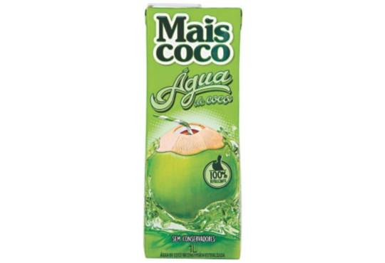 ÁGUA DE COCO MAIS COCO 1LT