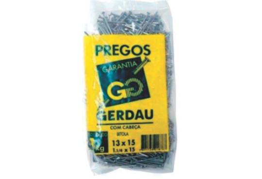 PREGO GERDAU 13X15 1KG