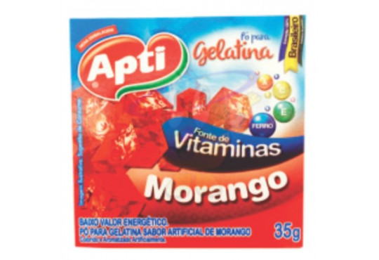GELATINA APTI MORANGO 35GR