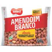 AMENDOIM SELECT BRANCO 500GR