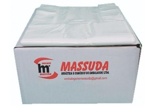 SACOLA PLAST MASSUDASUPER 38X48 C/ 800