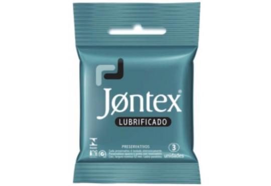 PRESERVATIVO JONTEX LUBRIFICADO C/ 3
