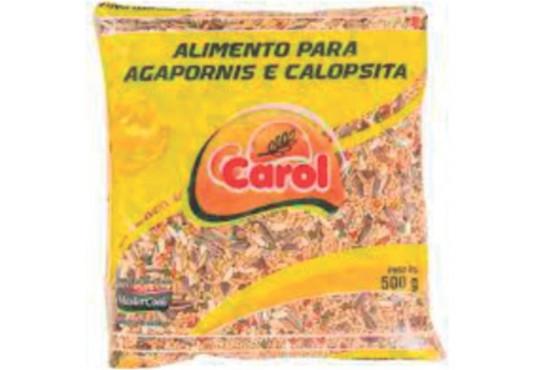 MISTURA P/ CALOPSITA AGAPORNIS CAROL 500GR