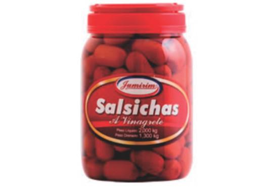 SALSICHA A VINAGRETE APERITIVO JUMIRIM 1,3KG OU 105UN