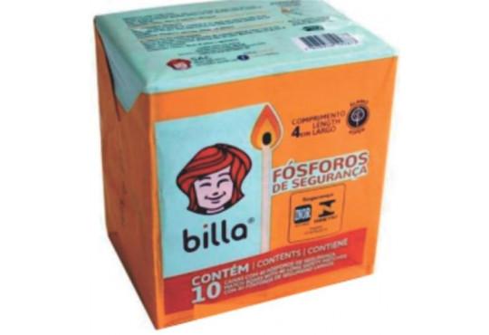FÓSFORO BILLA C/ 10X10